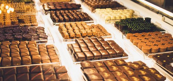 Chocolat vitrine